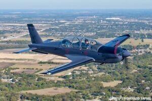 30 Minute Warbird Ride:  Socata TB-30 Epsilon