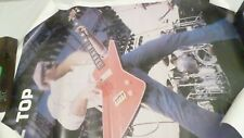 Vintage Zz Top Poster 22.75x17.5""