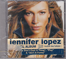 "CD 15T JENNIFER LOPEZ ""J. LO"" DE 2001 NEUF SCELLE WITH FRENCH STICKER"
