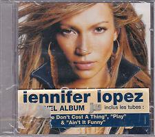 "CD 15T JENNIFER LOPEZ ""J. LO"" DE 2001 NEUF SCELLE WITH FRENCH STICKER"