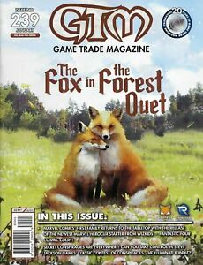 Game Trade Magazine #239 Fox In The Forest | Marvel Heroclix (GTM, 2020)