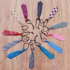1PC Newborn Baby Kids Small Tie Prop Photo Photography Fabric Crochet Necktie
