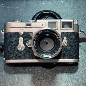 Leica M3 35mm Rangefinder Double Stroke w/ Carl Zeiss 50mm F2 ZM