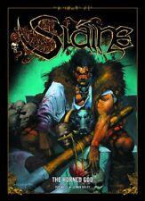 2000AD: JUDGE DREDD presents SLAINE - THE HORNED GOD - GRAPHIC NOVEL - EXCELLENT
