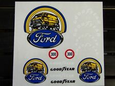 Ford Good Year decal set 1/8 1/10 Scale RC  Car truck crawler buggy stickers