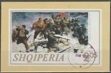 Albanië gestempeld 1973 block 47 - Fatmir Haxhiu (SG299)
