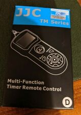 JJC TM Series Multi Function Timer Remote Control for Canon EOS