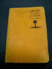 GIALLO IL NASO DI CARTONE DI EZIO D'ERRICO.PALMINA N.242 DEL 1940.PRIMA EDIZIONE