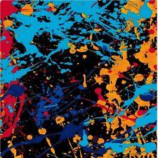 0.5X2M Graffiti colored paints Hydrographic Water Transfer Hydro Print Film diY
