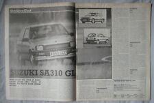 1984 Suzuki SA310 GL Original Motor magazine Road test