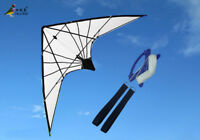 NEW 70-Inch Dual line Stunt power Delta kite outdoor fun sports