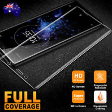 Full Tempered Glass Screen Protector Sony Xperia XZ2 Compact XA1 XA2 Ultra L2 X