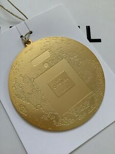 CHANEL Luxury Gold Accessory Charm Ornament VIP Christmas 2020 BRAND NEW