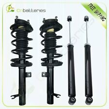 For 00-05 Ford Focus Front 2 Complete Struts Assembly w/ springs Rear 2 Shocks