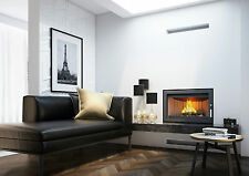 Fire Inset Wood Burning Cassette Stove Plasma style 6KW 5 years guarantee