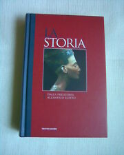 """Libro """"La storia"""" N. 1 dalla preistoria all'antico Egitto del 2007 ottimo"""