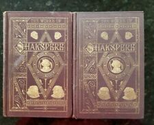 The Pictorial Edition of the Works of Shakespeare - 8 Volumes Circa 1870 Knight