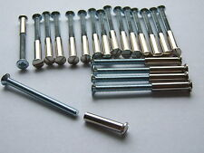 20 x M4 Screw Connecting Bolts & Sleeves For Door Handles. UK made.