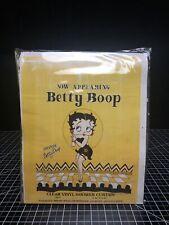 Vintage 1993 Betty Boop Clear Vinyl Shower Curtain Kfs Bright Ideas Unlimited