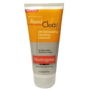 Neutrogena Rapid Clear Oil-Eliminating Foaming Cleanser, 177 ml (6 fl oz)