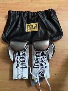 Everlast Pro Boxing Gloves 8OZ Exshop Display + Carry Sack BNNT Training 1910