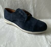 Samuel Hubbard Women's Freedom Now Shoes Size 9 Midnight Blue Suede