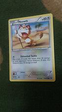 Meowth Pokemon Card COMMON [BREAKTHROUGH]