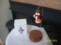 Hallmark Keepsake 2010 Snow Happy To Serve In Original Box Christmas Ornament