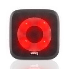 Knog Blinder Circle LED Rechargeable Rear Light Black. MTB Fixie Road Bike Cycle