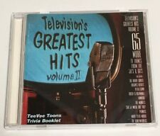 Television's Greatest Hits, Volume II CD Good Condition