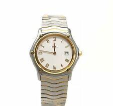 Ebel Women's Sport Classic Stainless Steel 24k Gold Electroplated Watch 1088131