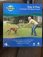 New listing *Brand New* Petsafe Stay and Play Wireless Pet Fence (Pif00-12917) *Sealed*