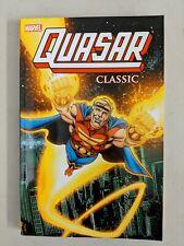 Quasar Classic Volume 1 Paperback 2012 Mark Gruenwald Paul Ryan