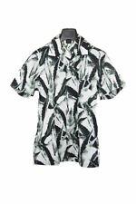 Hugo Boss short sleeve green print shirt size S RRP80 PUR206