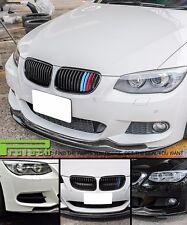 AK Look Carbon Fiber Front Bumper Spoiler Lip For 2011+ E92 328i 335i M Sports