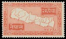 NEPAL 83 (Mi91) - Map of Nepal (pa2364)