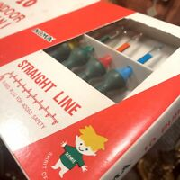 Rare NOMA Vintage 1960's Bubble Christmas Tree Lights Collectible Museum Estate