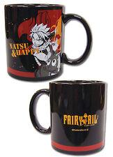 *NEW* Fairy Tail: Natsu & Happy Fired Up Coffee Mug by GE Animation
