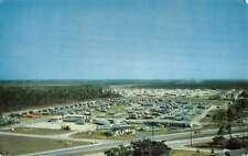 Naranja Florida Isla Gold Trailer Court Birdseye View Vintage Postcard K50389