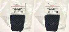 2 Genuine OEM Brake Clutch Pedal Pad Cover Mitsubishi Shogun / Sport / Pinin