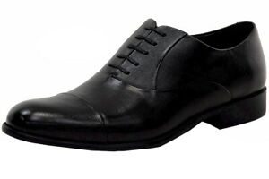Kenneth Cole Men's Chief Council Fashion Black Oxfords Shoes