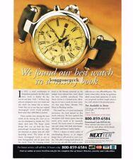 "2004 STAUER ""1992"" Wristwatch Print Ad"
