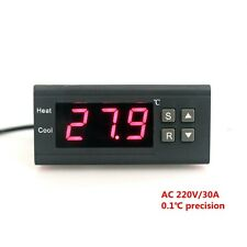 Digital Thermometer AC 220V 30A  LED Thermostat Temperature Controller