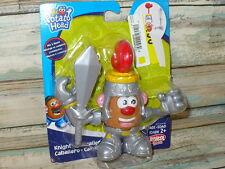 Playskool Mr Mrs Potato Head Knight Figure Mix & Mash Miniature New Mini