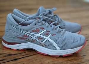 Women's ASICS Gel Flux 5 Running Shoes UK9 43.5 Worn Once Silver Pink