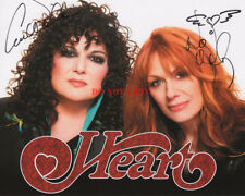 HEART ANN & NANCY WILSON Autographed 8x10 Signed Photo Reprint
