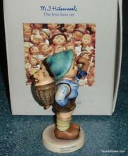 Home From Market Hummel Figurine #198 2/0 Tmk6 With Box Boy With Piglet - Cute! 00001B6D
