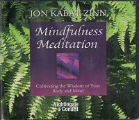 Mindfulness Meditation Jon Kabat Zinn 7CD Audio Book Cultivate Wisdom Body Mind