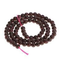 "diy 5mm A Grade Natural Garnet Gemstone Round Beads 15.5"""