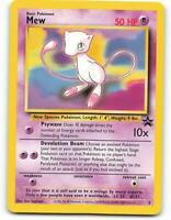 MEW #8 BLACK STAR PROMO NM-M POKEMON CARD Never Used//Played